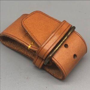 Authentic Louis Vuitton vachetta leather strap